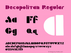 Decopolitan