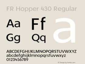 FR Hopper 430