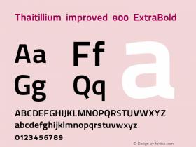 Thaitillium improved 800