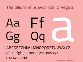 Thaitillium improved 400 2