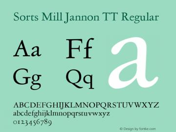 Sorts Mill Jannon TT