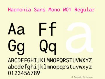 Harmonia Sans Mono