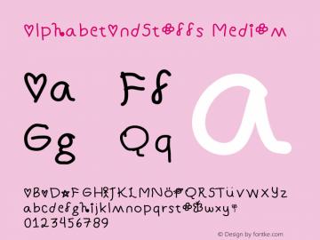 AlphabetAndStuffs