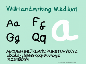 WillHandwriting