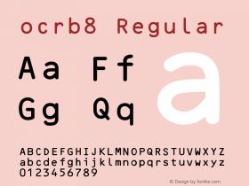 ocrb8