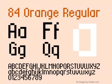 84 Orange