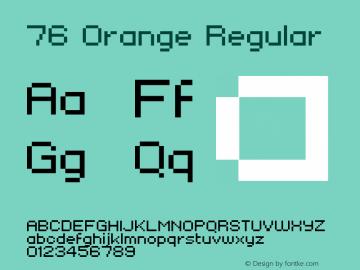 76 Orange