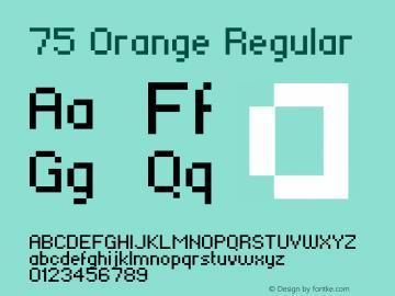 75 Orange