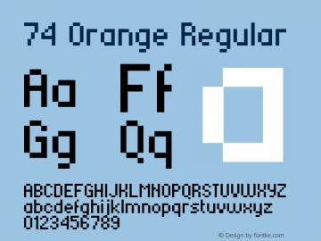 74 Orange