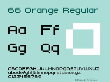 66 Orange