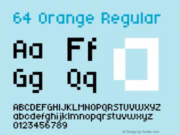 64 Orange