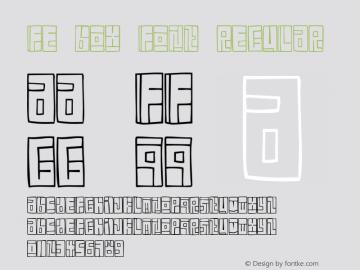 FE Box Font