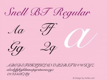Snell BT