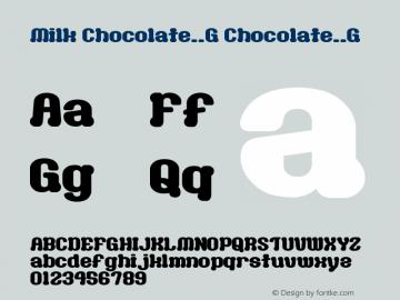 Milk Chocolate__G