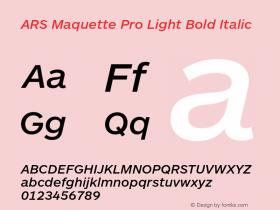 ARS Maquette Pro Light