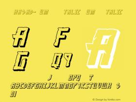 Khazad-Dum 3D Italic