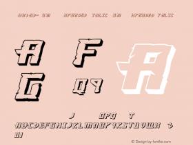 Khazad-Dum 3D Expanded Italic