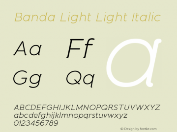 Banda Light