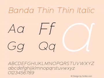 Banda Thin