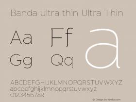 Banda ultra thin