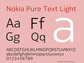 Nokia Pure Text