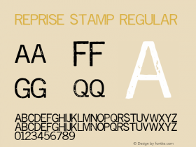 Reprise Stamp