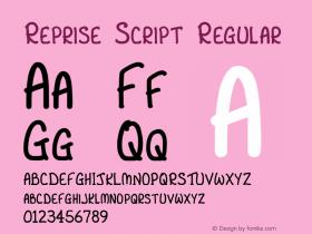 Reprise Script