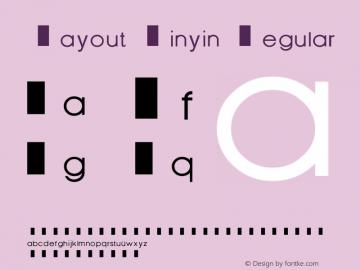 Layout Pinyin