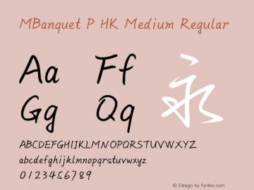 MBanquet P HK Medium