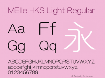 MElle HKS Light