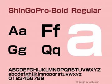 ShinGoPro-Bold