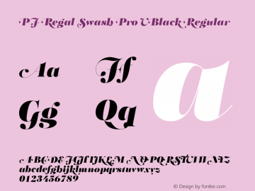 PF Regal Swash Pro UBlack