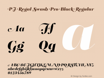 PF Regal Swash Pro Black