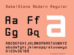 BabelStone Modern