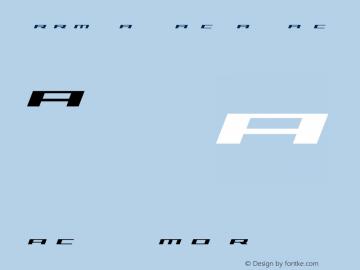 Trireme Expanded Italic
