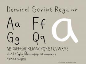Demisol Script