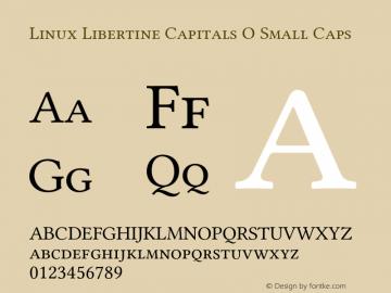 Linux Libertine Capitals O
