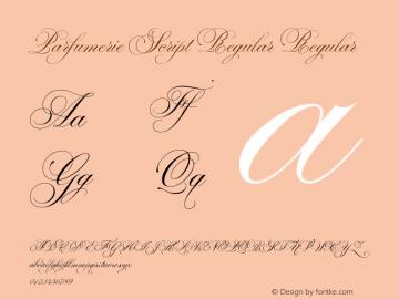 Parfumerie Script Regular