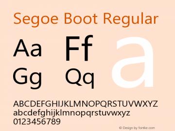 Segoe Boot