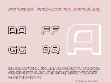 Federal Service 3D