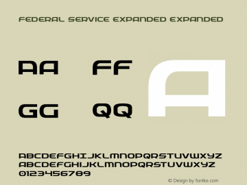 Federal Service Expanded