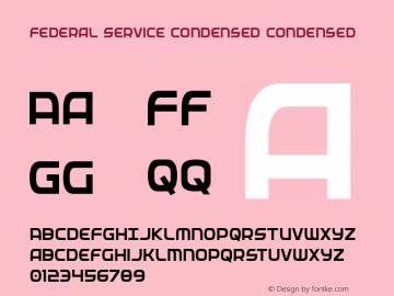 Federal Service Condensed