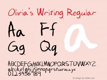 Olivia's Writing