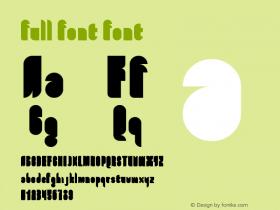 full font