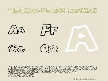 Re-Donk-U-Less