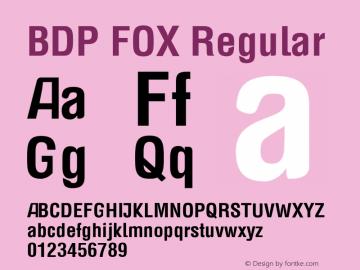 BDP FOX