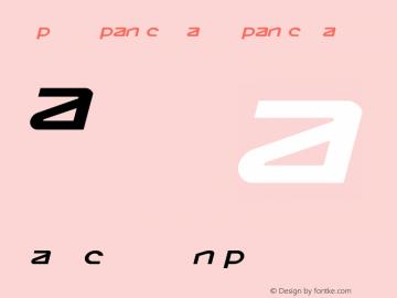 Opilio Expanded Italic