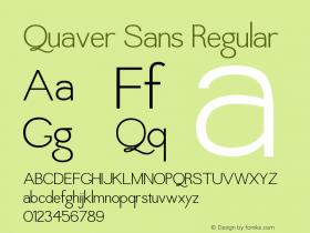 Quaver Sans