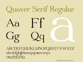 Quaver Serif