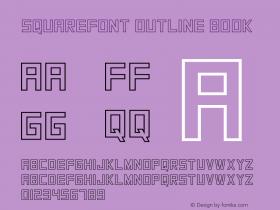 SquareFont Outline